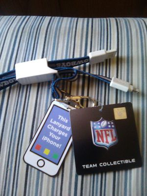 Iphone charger and lanyard for Sale in YSLETA SUR, TX