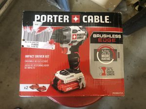 PORTER-CABLE 20-Volt Max 1/2-in Brushless Cordless Drill for Sale in Fresno, CA