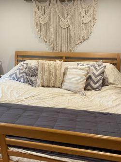 C2Series Sleep # Calif King Sleigh Bed, Armoire, Nightstand for Sale in Everett,  WA