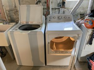 7 month old GE washer & dryer - Sold as a Set- Pick up Only. for Sale in Blackstone, MA