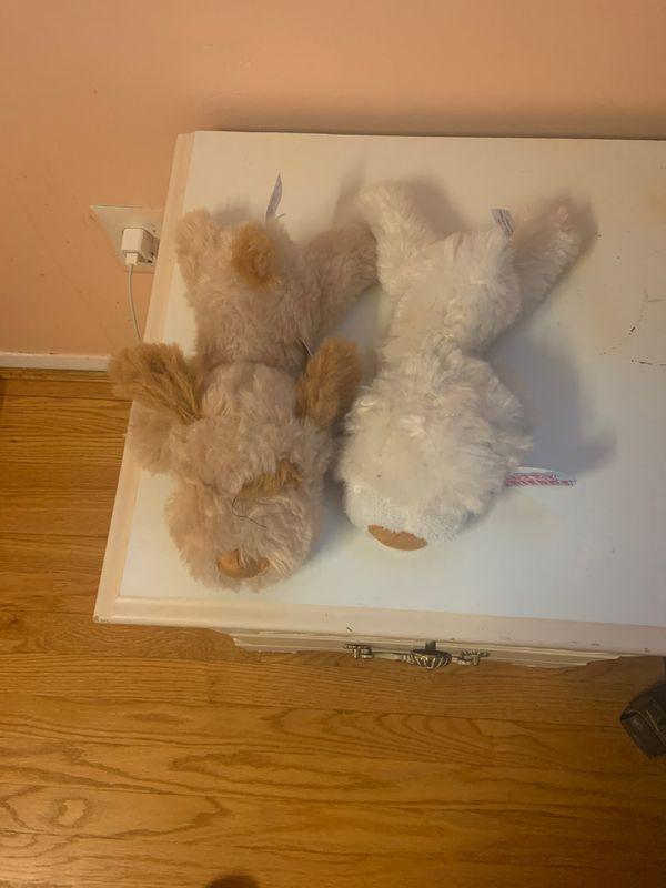 Fluffy dog toys