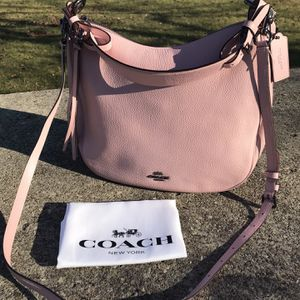 Large Light Pink Coach Purse for Sale in Columbus, OH