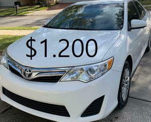 🎁$1.20O🎁Runs and drives excellent Clean title🎁 2013 Toyota Camry 🎁is 𝓿𝓮𝓻𝔂 𝓬𝓵𝓮𝓪𝓷 inside and out everything works🎁 for Sale in Oakland, CA