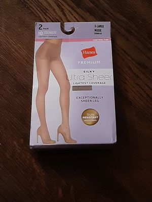 2 pair of hanes premium pantyhose for Sale in Chicago, IL