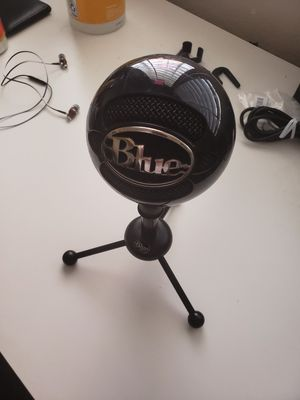 Blue Snowball Mic for Sale in Milpitas, CA