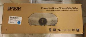 Epson PowerLite Home Cinema 5040UBe Projector for Sale in Chesapeake, VA