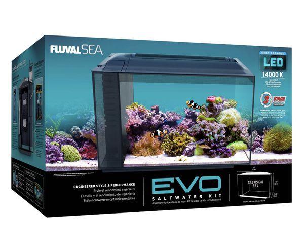 Fluval Sea EVO Fish Aquarium 13.5 gallon