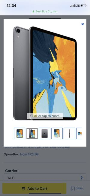 Apple - 11-Inch iPad Pro (Latest Model) with Wi-Fi - 256GB - Space Gray for Sale in Rochester, MI