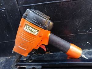 Pneu strap nailer in great conditions ready for work asking 85 or best offer for Sale in Charlotte, NC