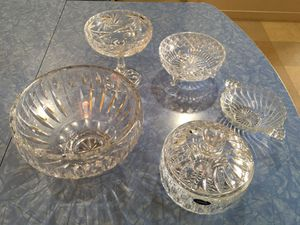 Assorted collectable glass. for Sale in Seattle, WA