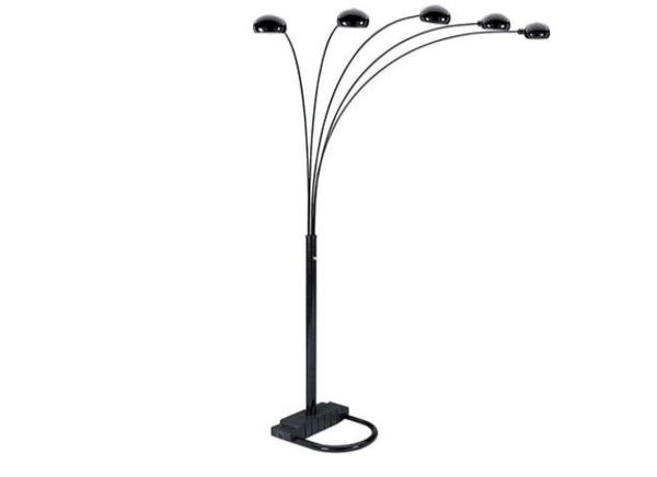 5 Arm Floor Lamp - MOVEABLE ARMS