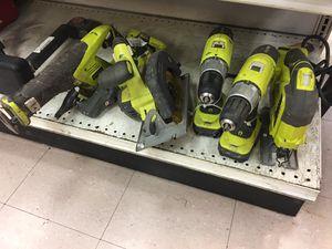 Ryobi Cordless Tool Set for Sale in Austin, TX
