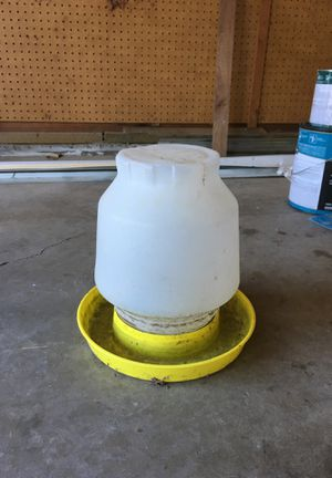 Chicken watering bowl - FREE for Sale in Tigard, OR