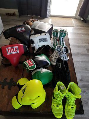 Boxing gear. very good condition. for Sale in Vero Beach, FL