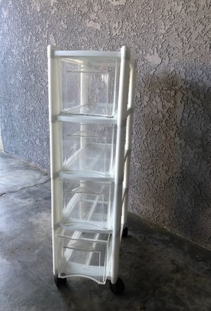 Plastic storage drawers for Sale in Huntington Beach, CA
