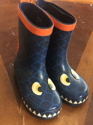 KoalaKids BabyShark Rain Boots size 9 for Sale in Santa Barbara, CA