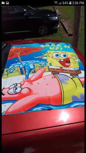 Spongebob throw blanket for Sale in Easley, SC