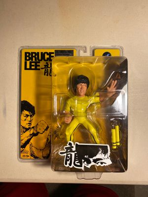 Bruce Lee action Figure with nunchuks Round 5 Game of Death for Sale in Mesa, AZ
