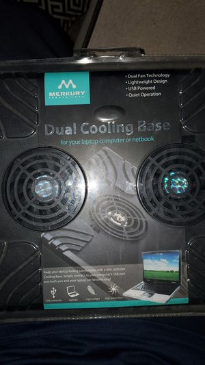 Lab top computer or notebook cooling base for Sale in Palm Springs, FL