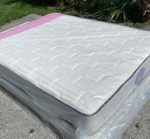 NEW FULL MATTRESS AND BOX SPRING. for Sale in West Palm Beach, FL