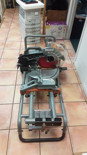 Ridgid Ms-UV stand with saw for Sale in Davie, FL