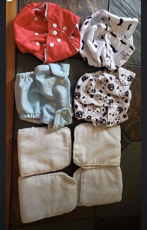 Cloth diapers and inserts for Sale in West Monroe, LA
