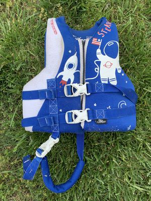 Child life jacket 30-50 lbs for Sale in Murfreesboro, TN