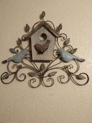 Metal/wood decor (2 peices) for Sale in Henderson, NV