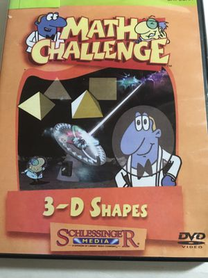 SCHLESSINGER MATH CHALLENGE 3-D SHAPES for Sale in New Castle, DE