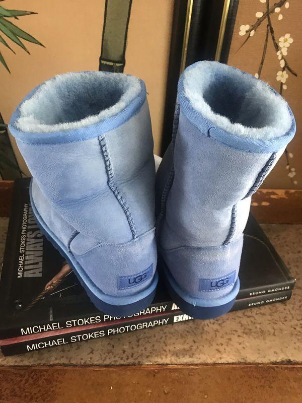 Blue Uggs 8