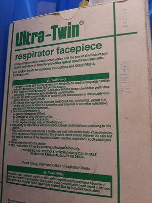 Ultra-thin face respirator for Sale in Dania Beach, FL