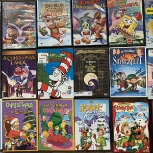 156 Assorted Dvd's (Holiday, Sports, Horror, Comedy, Fitness) for Sale in White Lake charter Township, MI