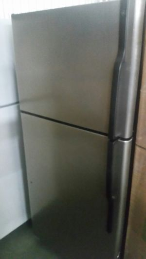GE Clean Steel Top Freezer and Refrigerator for Sale in Manassas Park, VA