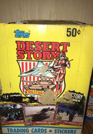 Topps Desert Storm Victory Series collectors cards for Sale in Gainesville, VA