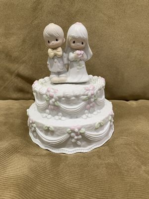 Precious Moments Wedding Cake music box for Sale in Troy, MI
