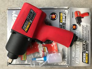 Central Pneumatic Impact Wrench for Sale in Vancouver, WA