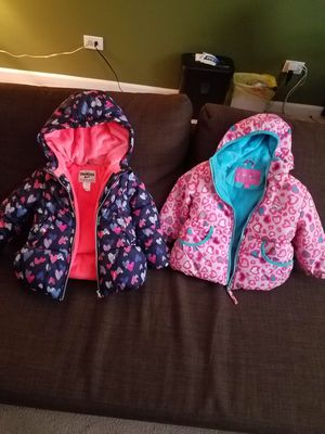 2 Toddler winter coats brand new for Sale in Clifton, NJ