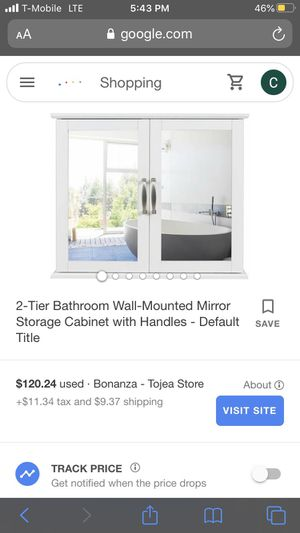 Bathroom wall mounted mirror for Sale in Silverado, CA