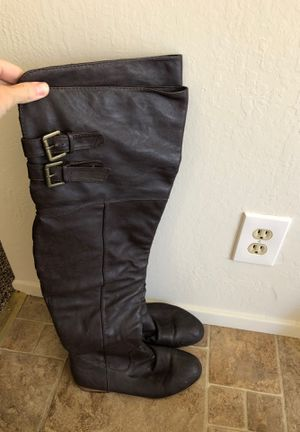 Thigh high boots size 9 for Sale in Castro Valley, CA