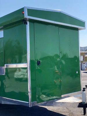 Food Trailer green available 7x16 ft for Sale in Dallas, TX