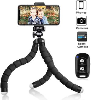 UBeesize Tripod S Flexible Wireless Remote Shutter Stand Holder for Sale in Los Angeles, CA