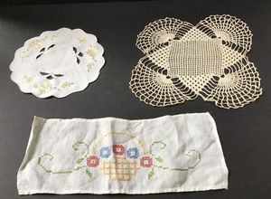 Lovely Collection of Vintage Linens for Sale in Bluffton, SC