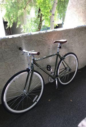 Retrospec Harper Single-Spaced Fixed Gear Bike (49cm, Small) + U-Lock + Air Pump for Sale in Tempe, AZ