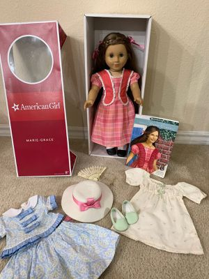American Girl Marie-Gracie Gardner Retired Doll Lot for Sale in Fort Worth, TX
