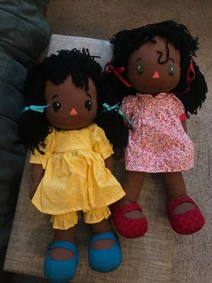 """Handmade soft dolls. 18"""", washable for Sale in Round Rock, TX"""