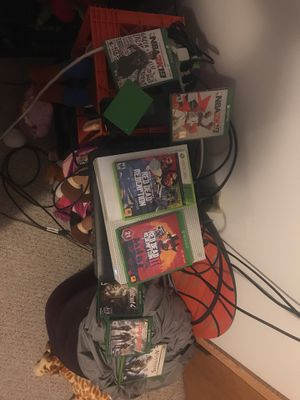 Xbox one , 1TB external hard drive and multiple games for Sale in Wichita, KS