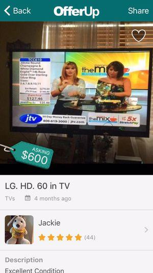 60 in HD TV for Sale in Hialeah, FL