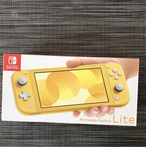 Nintendo switch lite. With zelda and smash for Sale in Portland, OR