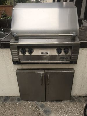 BBQ built in grill alfresco with sink and stainless doors for Sale in Chula Vista, CA