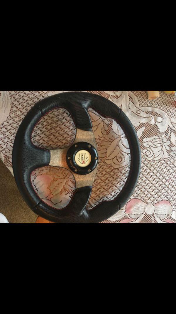Quick Release TypeR steering wheel (NO HUB)